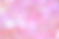 Fondo rosa: Foto delle azione della sfuocatura di giorno di madri illustrazione vettoriale