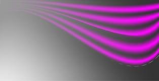 Fondo rosa nero ed al neon dell'estratto di vettore di pendenza della maglia con negativo-spazio illustrazione vettoriale
