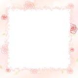 Fondo rosa romantico Immagini Stock