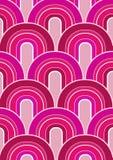 Fondo rosado stock de ilustración