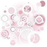 Fondo rosado abstracto Fotografía de archivo