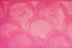 Fondo rosado, aleta del cemento, Tailandia Imagen de archivo