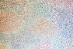 Fondo rosado azul yeso Concepto abstracto minimalism fotografía de archivo