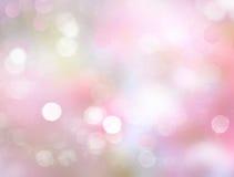 Fondo rosado borroso primavera