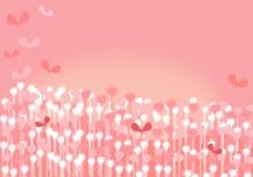 Fondo rosado caprichoso Fotos de archivo libres de regalías