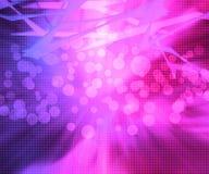 Fondo rosado de la abstracción Fotografía de archivo