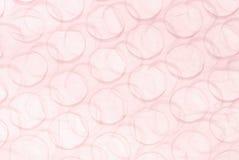 Fondo rosado de la burbuja Imágenes de archivo libres de regalías