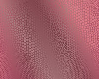 Fondo rosado de la imitación de la piel de serpiente Foto de archivo libre de regalías