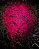 Fondo rosado de la perspectiva de Grunge ilustración del vector