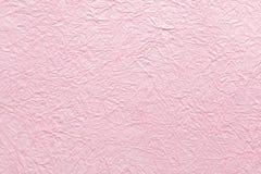 Fondo rosado de la primavera de la textura de papel tradicional Imagenes de archivo