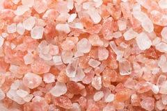 Fondo rosado de la sal Fotos de archivo libres de regalías