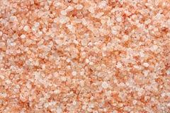 Fondo rosado de la sal foto de archivo libre de regalías