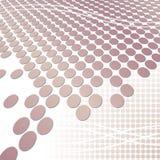 Fondo rosado de la tecnología Imagen de archivo