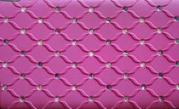 Fondo rosado de la textura Fotografía de archivo
