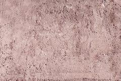 Fondo rosado de la textura del muro de cemento fotos de archivo