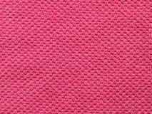 Fondo rosado de la toalla Foto de archivo