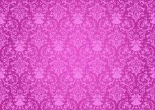 Fondo rosado de las repeticiones ilustración del vector