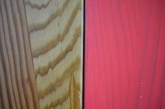 Fondo rosado de madera de la pintura texturizado coloreado Imagen de archivo libre de regalías