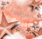 Fondo rosado del amor de la estrella Imagen de archivo libre de regalías