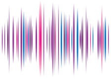 Fondo rosado del equalizador Imágenes de archivo libres de regalías