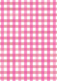 Fondo rosado del modelo de la acuarela de la tela de la comida campestre Fotos de archivo libres de regalías
