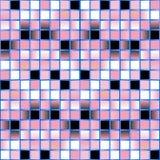 Fondo rosado del mosaico - vector Fotografía de archivo libre de regalías