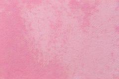 Fondo rosado del muro de cemento fotografía de archivo