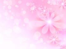 Fondo rosado del resorte Fotos de archivo libres de regalías