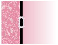 Fondo rosado floral Imagenes de archivo