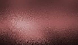 Fondo rosado oscuro de la textura de la hoja de plata Fotografía de archivo libre de regalías