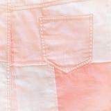 Fondo rosado para el bebé Árbol congelado solo Imagen cuadrada Fotos de archivo