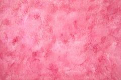 Fondo rosado pintado Foto de archivo libre de regalías