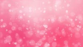 Fondo rosado romántico del bokeh