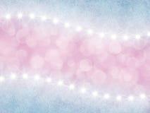 Fondo rosado y de la lila abstracto con las estrellas libre illustration