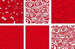 Fondo rosas (vector) Stock Image
