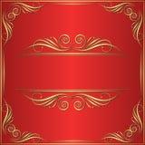 Fondo rosso Immagine Stock