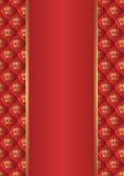 Fondo rosso Immagini Stock