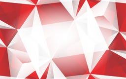 Fondo rosso astratto Immagine Stock