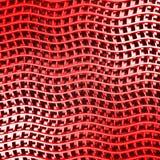 Fondo rosso astratto di progettazione delle bande Fotografia Stock