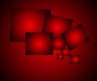Fondo rosso astratto elegante Fotografie Stock