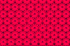 Fondo rosso con i cerchi Immagini Stock