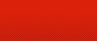 Fondo rosso con le bande bianche e la transizione di colore Fotografie Stock