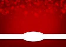 Fondo rosso con spazio per testo Fotografia Stock Libera da Diritti