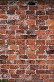 Fondo rosso d'annata del muro di mattoni, muro di mattoni per struttura del fondo Fotografie Stock