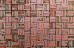 Fondo rosso del muro di mattoni Fotografia Stock