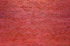 Fondo rosso del muro di mattoni Fotografia Stock Libera da Diritti