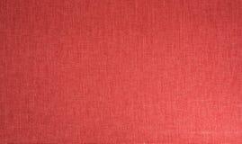 Fondo rosso del tessuto di tessuto Fotografia Stock
