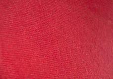 Fondo rosso del tessuto per voi Fotografie Stock Libere da Diritti