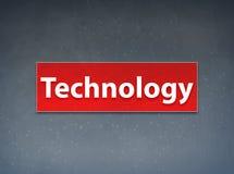 Fondo rosso dell'estratto dell'insegna di tecnologia royalty illustrazione gratis