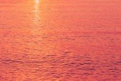 fondo rosso della natura dell'acqua di mare fotografia stock libera da diritti